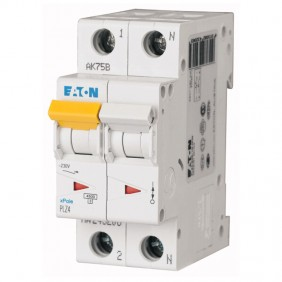 Interruttore magnetotermico Eaton 25A 1P+N...