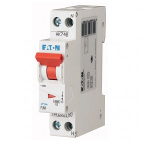 Circuit breaker-Eaton 10A 1P+N 4.5 KA 1 modules...