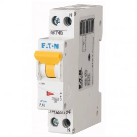 Circuit breaker-Eaton 25A 1P+N 4.5 KA 1 modules...