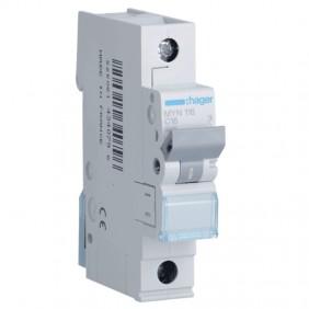 Circuit breaker Hager 1P 16A 4.5 KA C 1 form...