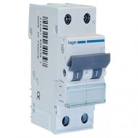 Circuit breaker Hager 2P 40A 4.5 KA C 2...