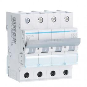 Circuit breaker Hager 4P 50A 4.5 KA C 4 modules...
