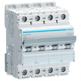 Circuit breaker Hager 4P 25A 10KA C 4 modules...