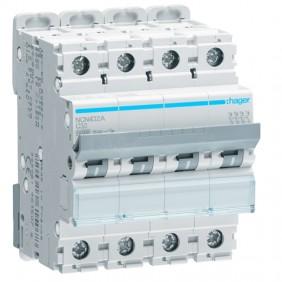 Circuit breaker Hager 4P 32A 10KA C 4 modules...