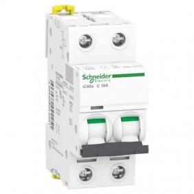 Circuit breaker-Schneider 2P 16A 4,5 KAC 2...
