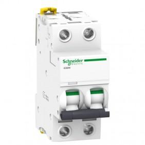 Circuit breaker-Schneider 2P 4A 6 C 2 modules...