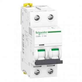 Circuit breaker-Schneider 2P 16A 6 KA C 2...
