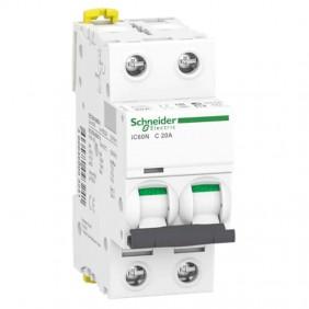 Circuit breaker-Schneider 2P 20A 6 KA C 2...