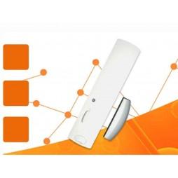 Contatto magnetico senza fili Logisty Hager Bianco per porte e finestre