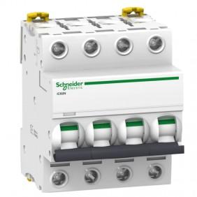 Circuit breaker-Schneider 4P 10A 6 KA C 4...