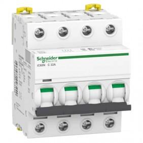 Circuit breaker-Schneider 4P 32A 6 KA C 4...