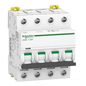 Circuit breaker-Schneider 4P 40A 6 KA C 4...