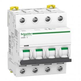 Circuit breaker-Schneider 4P 50A 6 KA C 4...