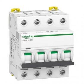 Circuit breaker-Schneider 4P 63A 6 KA C 4...
