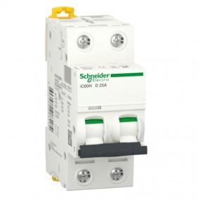 Switch circuit Breakers Schneider 2P 25A 10KA-D...