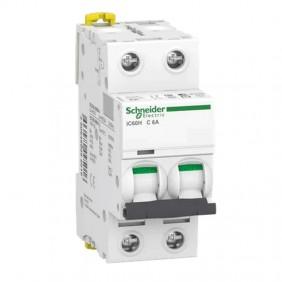 Circuit breaker-Schneider 2P 6A 10KA C 2...