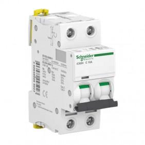 Circuit breaker-Schneider 2P 10A 10KA C 2...