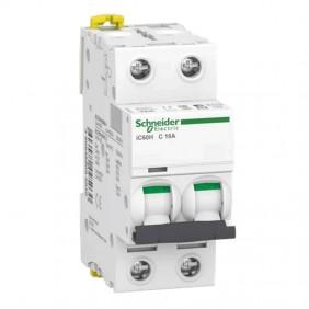 Circuit breaker-Schneider 2P 16A 10KA C 2...