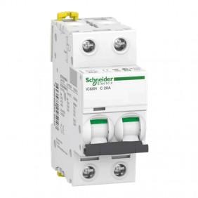 Circuit breaker-Schneider 2P 20A 10KA C 2...