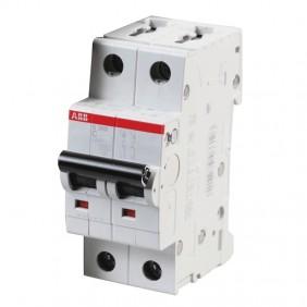Circuit breaker-ABB 2P 10A 6 KA C 2M S202 S465700