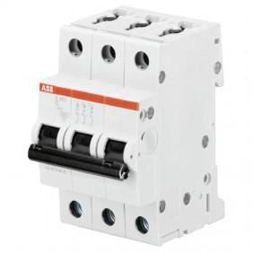Interrupteur magnétothermique ABB 3P 16A 6 KA C...