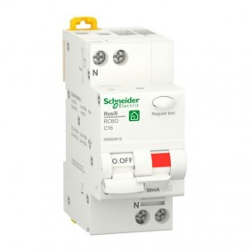 Magnetotermico differenziale Schneider 16A 1P+N...