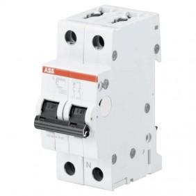 Circuit breaker ABB, 1P+N 6A 6 KA C S201NA 2M...