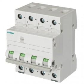 Switch isolator Siemens OFF 32A 400VAC 4 Pole...