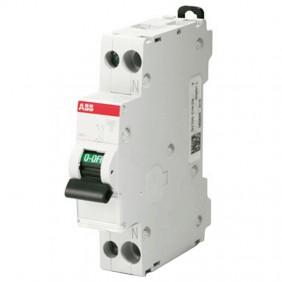 ABB circuit Breaker 1 Module 1P+N 4.5 KA 6A...