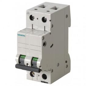 Circuit breaker Siemens 2P 6A 6 ka Type C 2...