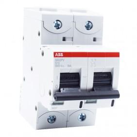 Circuit breaker-ABB S802PV-S10 10A 5kA 2-Pole...