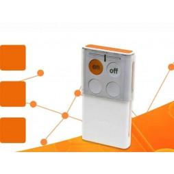 Telecomando bidirezionale con ritorno di stato 4 pulsanti Logisty Hager Sepio