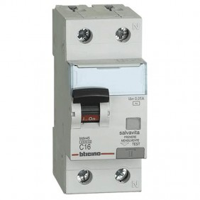 Bticino magnetotermico differenziale 1P+N AC...