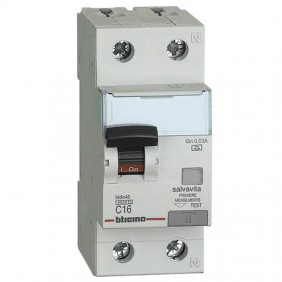 Circuit breaker differential Bticino 1P + N 16A...