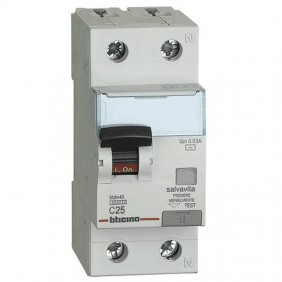 Bticino Differential Circuit Breaker 1P+N 25A...
