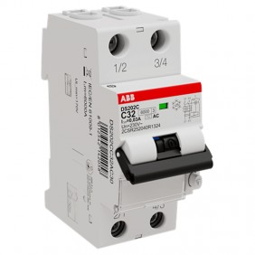 ABB 2 pole thermomagnetic circuit breaker 32A...