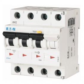 Earth leakage circuit breaker Eaton 25A 3P+E...
