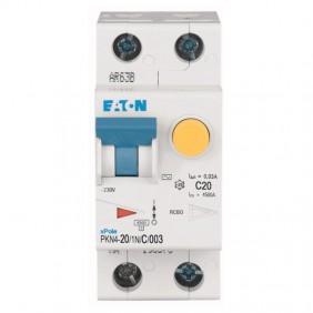 Eaton 20A 1P+N 30MA residual current circuit...