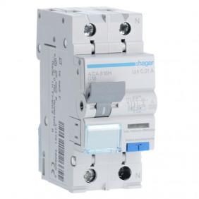 Earth leakage circuit breaker Hager 1P+N 10MA...