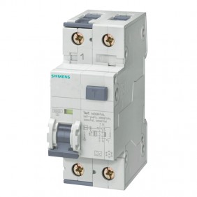 Siemens 6A 10KA 2M residual current circuit...