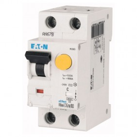 Eaton FRBM6 25A 1P+N 300MA 'AC' residual...