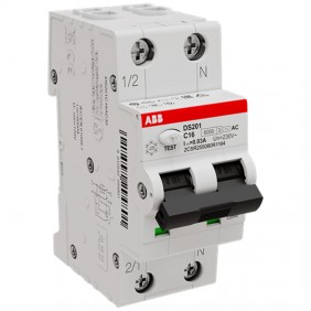 Differential Magnetothermal Abb 16A 1P N 30MA...