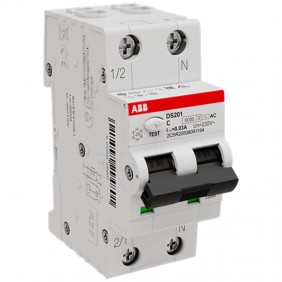 Differential Magnetothermal Abb 25A 1P N 30MA...