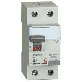 Bticino residual current circuit breaker 25A...