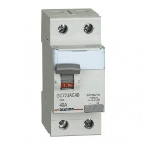 Bticino residual current circuit breaker 40A...