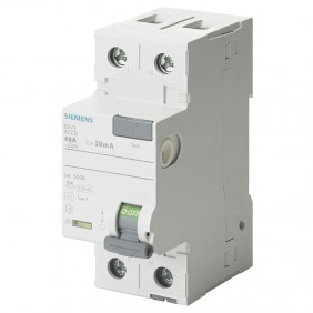 Siemens pure differential switch 2 poles 40A...