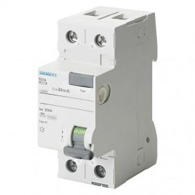 Interruttore differenziale puro Siemens 2 poli...