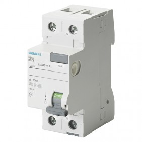 Siemens pure differential switch 2 poles 25A...