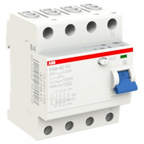 ABB pure residual current circuit breaker 4...