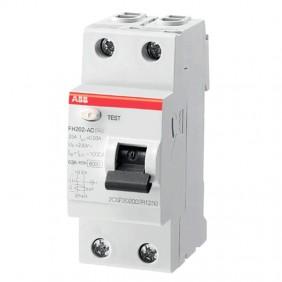 ABB disjoncteur à courant résiduel pur 2P 30mA...